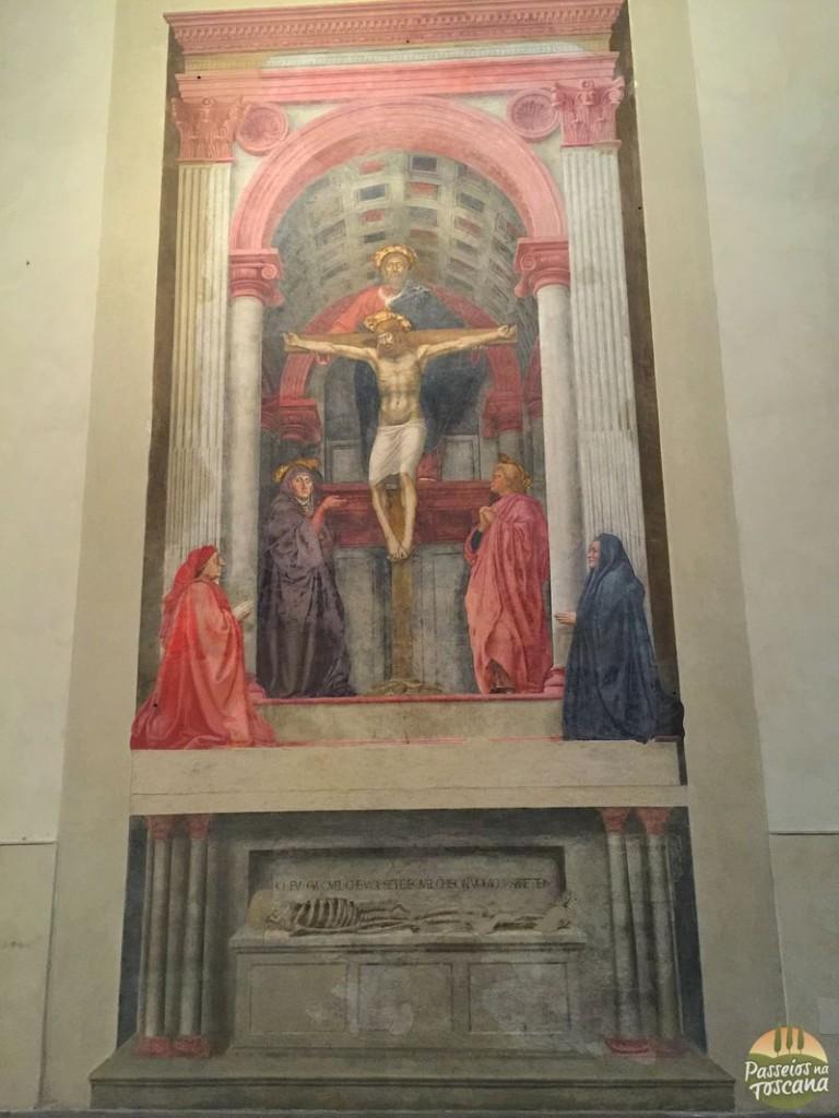 O afresco de Masaccio