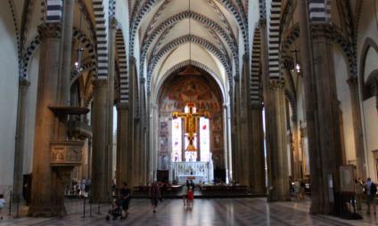 Basílica de Santa Maria Novella em Florença e suas obras Renascentistas