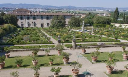 Villa dos Medici na Toscana: Villa di Castello