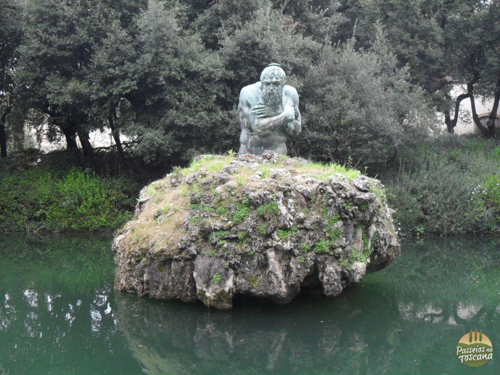 A Fonte de Janeiro (ou dos Apeninos) de Bartolomeo Ammannati