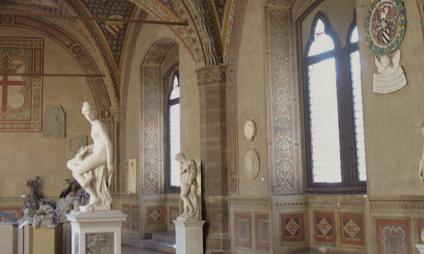O Museu do Bargello, o museu das esculturas de Florença