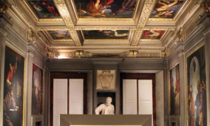 Casa Buonaroti, o museu da casa da família de Michelangelo