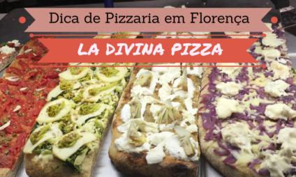 Dica de Pizzaria em Florença: La Divina Pizza