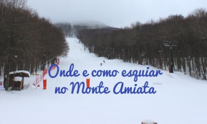 Onde e como esquiar no Monte Amiata