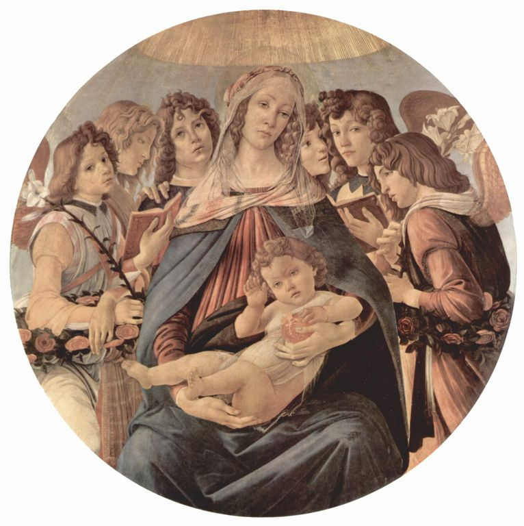 Madonna con Bambino - Botticelli