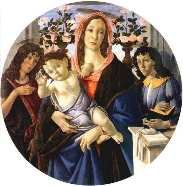 Madonna con bambino - Botticelli - Museu de Varsávia
