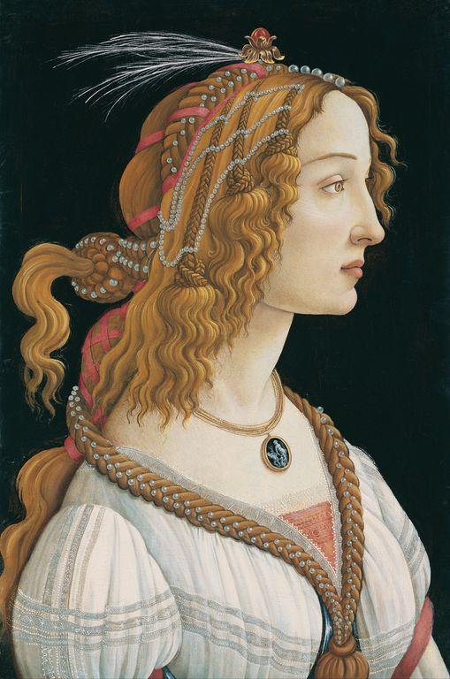 Retrato de Simonetta Vespucci
