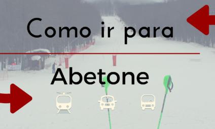 Como ir para Abetone, Doganaccia e Val di Luce desde Florença e Pistoia