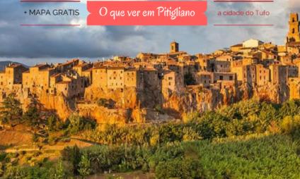 """O que ver em Pitigliano + mapa grátis, a """"cidade do tufo"""""""