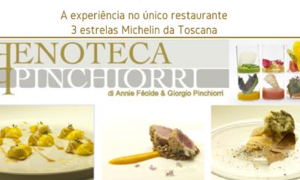 Enoteca Pinchiorri, como é jantar no único restaurante da Toscana com 3 estrelas Michelin