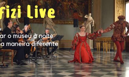 Uffizi Live: visitar o museu à noite de uma maneira diferente