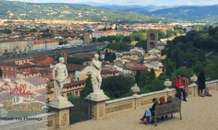 Jardim e Villa Bardini, uma opção de passeio diferente em Florença