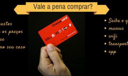 Vale a pena comprar o Firenze Card? confira as mudanças 2019