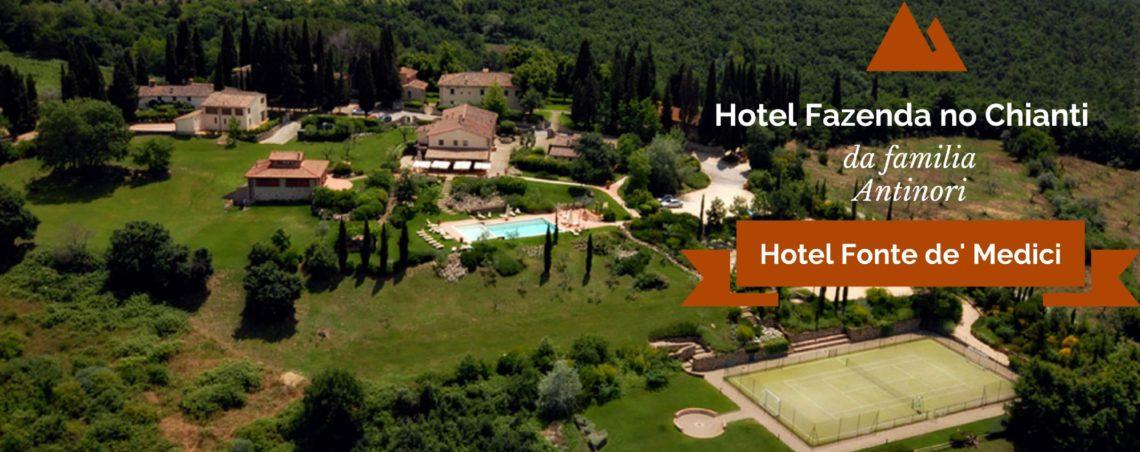 Hotel Fazenda no Chianti da familia Antinori: Hotel Fonte de' Medici