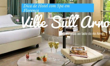 Dica de Hotel em Florença com spa: Ville sull'Arno *****