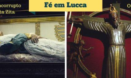 """Fé em Lucca: a história do """"Volto Santo"""" e o corpo incorrupto de Santa Zita"""