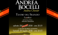 EXTRA! Nova data para o Show do Andrea Bocelli 2018!