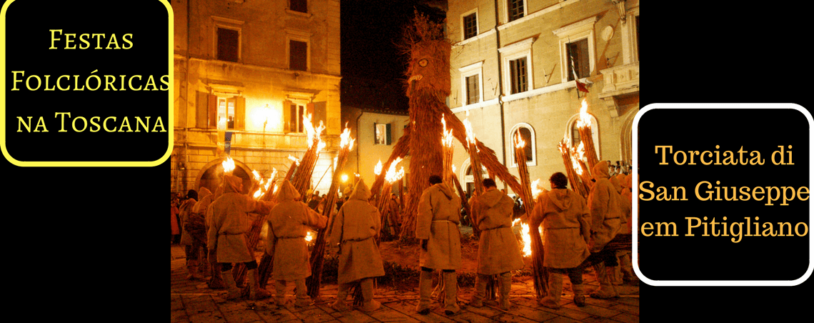 Folclore: Torciata di San Giuseppe em Pitigliano