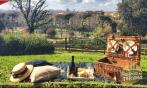 Piquenique em Florença no Parque