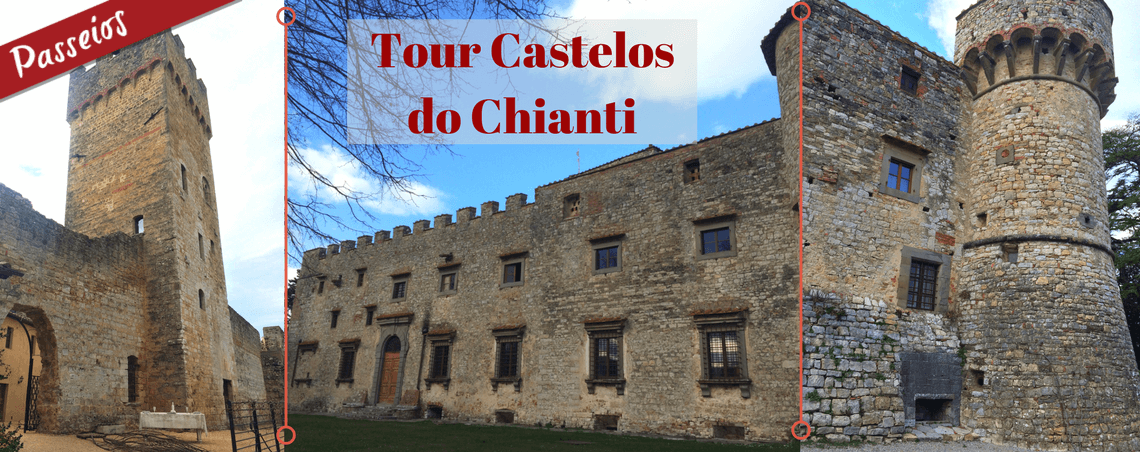 Tour Castelos do Chianti