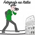 Fotógrafo na Itália